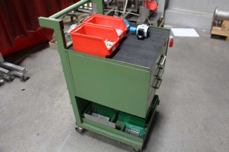 Workshop Trolley/Assembly Trolley with Contents