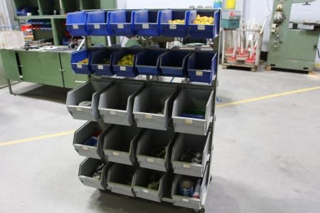 Mobile Rack for Open Fronted Storage Boxes