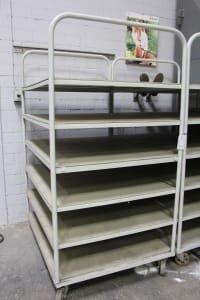 2 Shelf Transport Trolleys