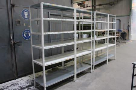 2 Steel Shelvings - Pluggable