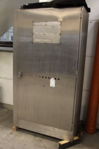 Stainless Steel Cabinet with Contents
