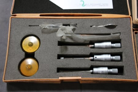MITUTOYO Lot Three-Point Inside Micrometer