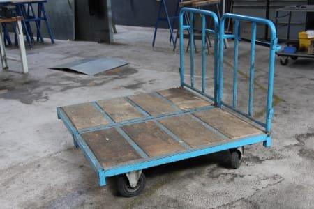 2 Workshop Transport Trolleys