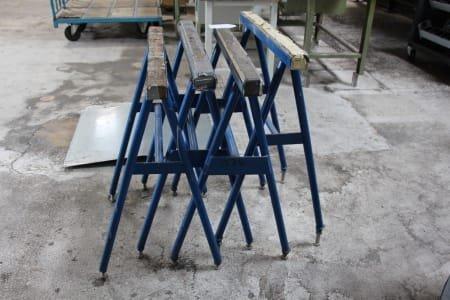4 Support Trestles - Height Adjustable