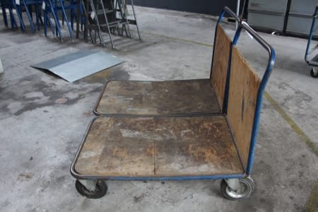 2 Workshop Trolleys/Platform Trolleys