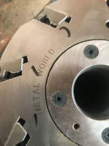 METAL WORKS Milling tool for WEINIG profile grinder