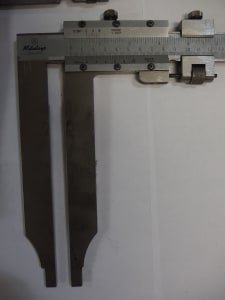 MITUTOYO Lot with 2 Callipers