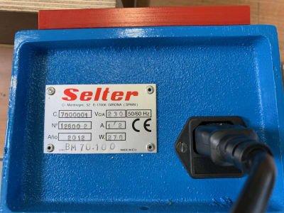 SELTER BM 70.100 Plate Demagnetizing Device