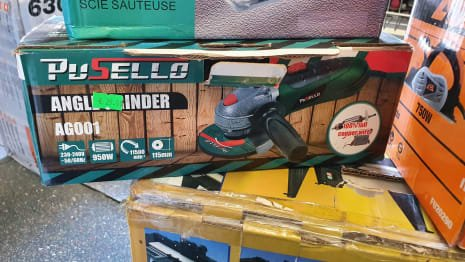 Lot of tools for wood