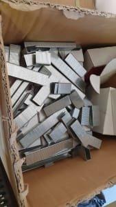 Lot of staples