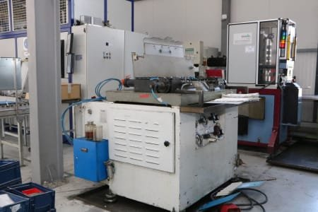 PULZER PS-2 X 300 Upsetting Machine