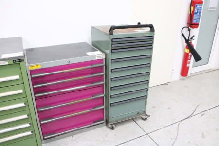 Mobile Tool Cabinet without Contents