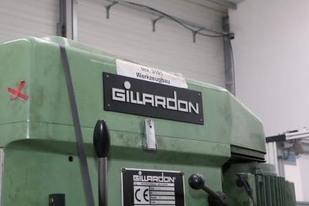 GILLARDON GB 25 Column Drilling Machine