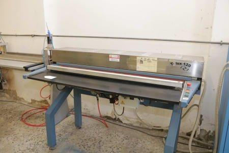 COSTRUZIONI ELETTROMECCANICHE OFFICINE DEL TONGO T-LUX 120 UV-Heating Table Edges