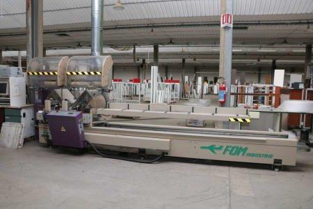 Ingletadora doble para aluminio FOM INDUSTRIE BZETA 50 EURO B