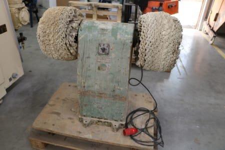 Double grinding/ polishing stand