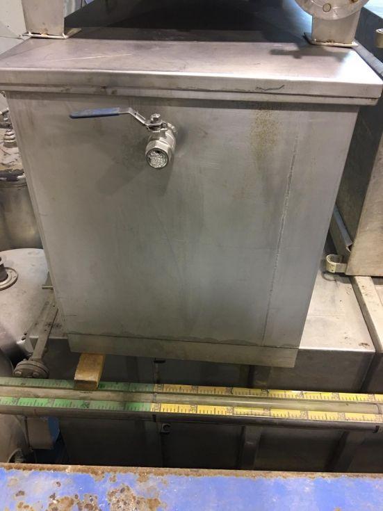 Deposito acero inoxidable 750 litros de segunda mano