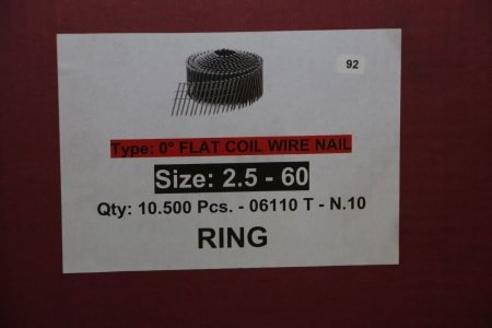 RING Lot of nails
