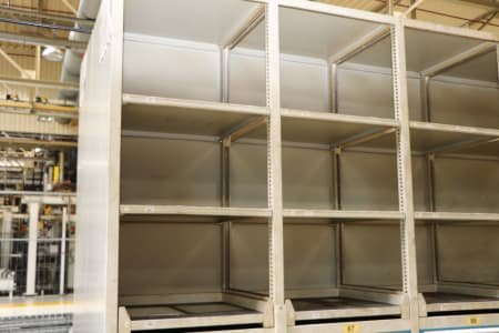 Block of 6 raw cabinets