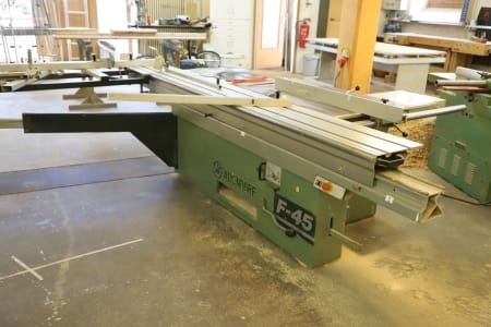 ALTENDORF F 45 Sliding table saw