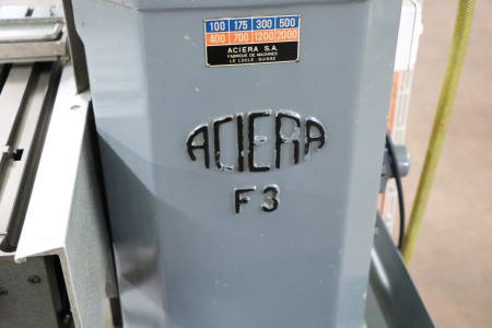 ACIERA F3 Gear Hobbing Machine