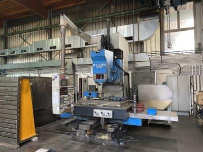 FLURI F-28 CNC Universal milling machine
