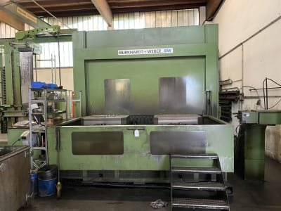 BURKHARDT + WEBER MC 80 PW Machining Center