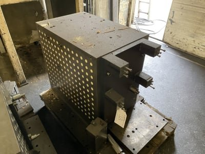 Clamping cube