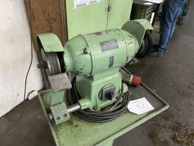 AEG D Double bench grinder