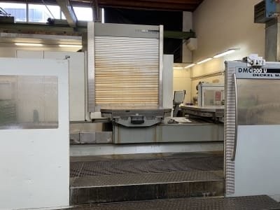DECKEL MAHO DMC 2000 U 5-axis machining centre