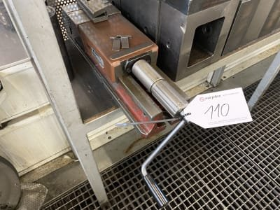 ALLMATIC HD 160 Machine vice