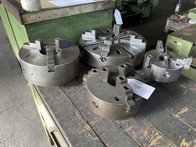 Lot of clamping devices