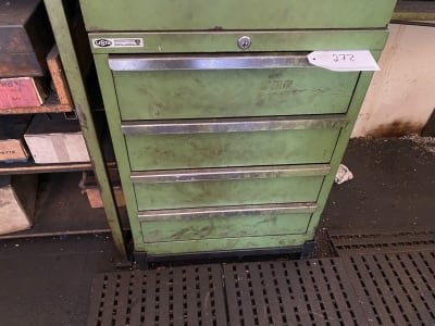 LISTA Workshop cabinet with contents