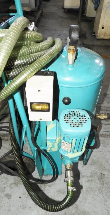 Bomba para trasvase de aceites