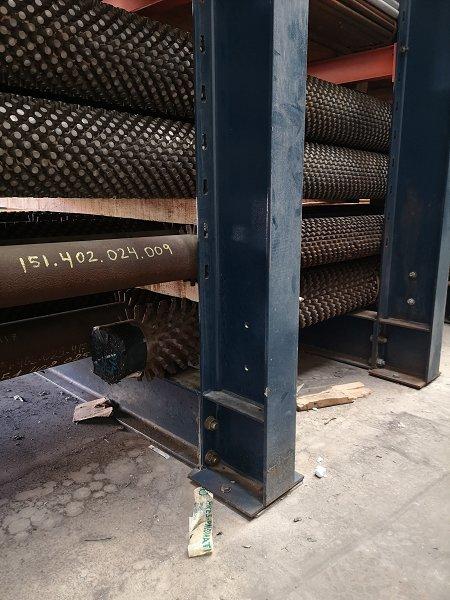Tuberías de acero al carbono, aleolado y cobre almiralty