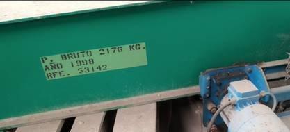 Grúa de brazo giratorio VICINAY - Cap. 1000 kgs