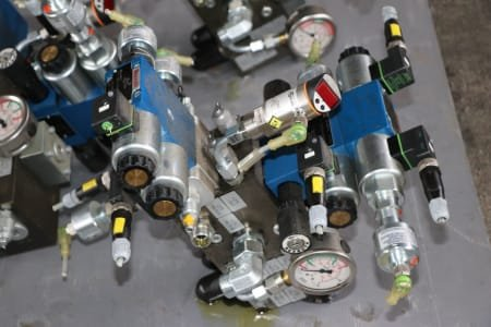 REXROTH Lot Of Proportional valves