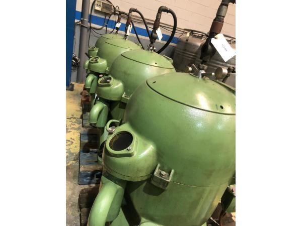 Centrifugas WESTFALIA para aceites industriales o biodiesel