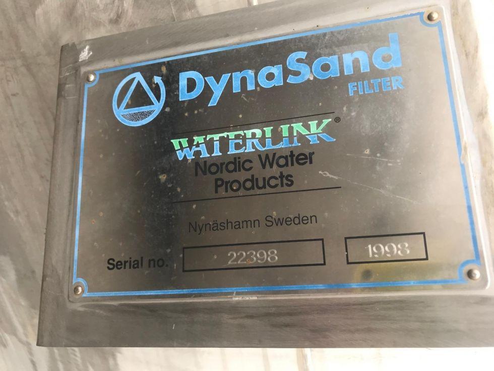 Depósito filtro de arena para agua 10.000 litros DYNASAND FILTER
