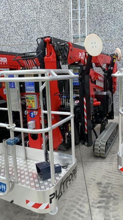 Plataforma aerea oruga 18Mt Basket 18.90