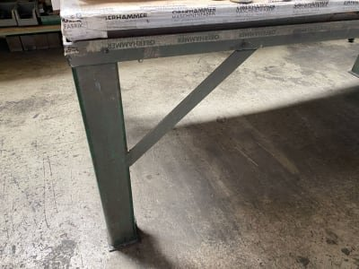 Metal worktable