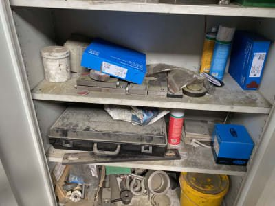 Workshop cupboard