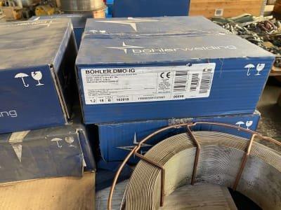 VOESTALPINE BöHLER WELDING 32 rolls of welding rod