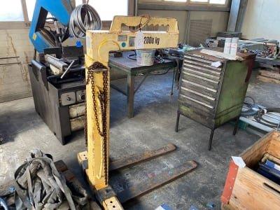 TKG 2.0 VH Crane sling fork