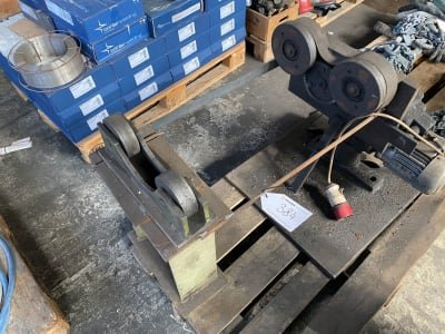 Turning device for welding