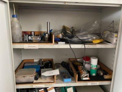Workshop cupboard