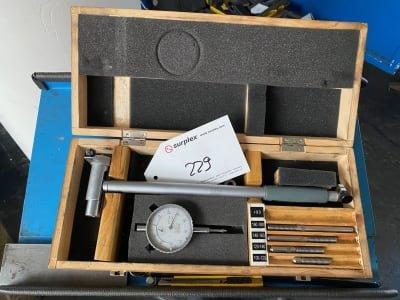 MIB 2-point measuring gauge set