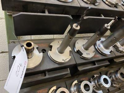 24 tool holders SK 50