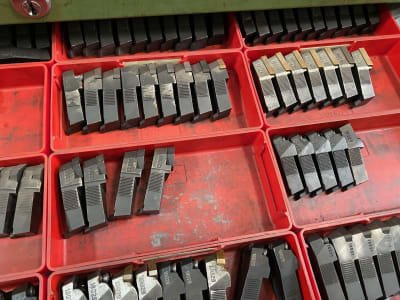 Lot of spare parts for insert holder