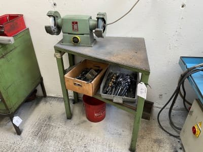 REMA DS 12/200 Double bench grinder